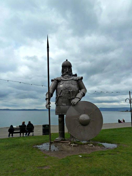 Viking at Largs