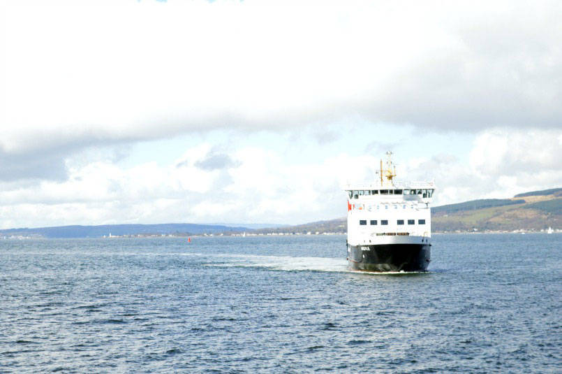 Ferry to Isle of Bute from Wemyss Bay