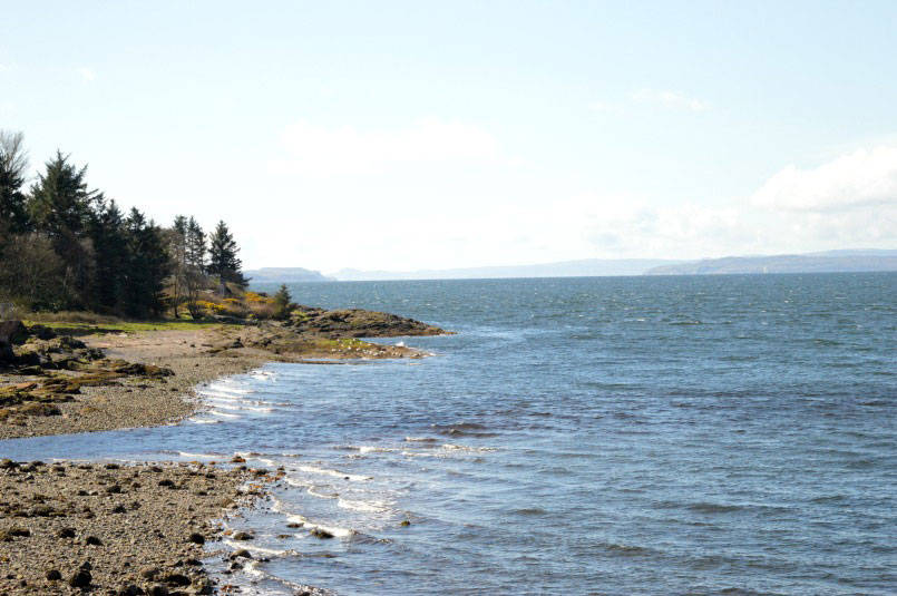 View from Wemyss Bay ferry port