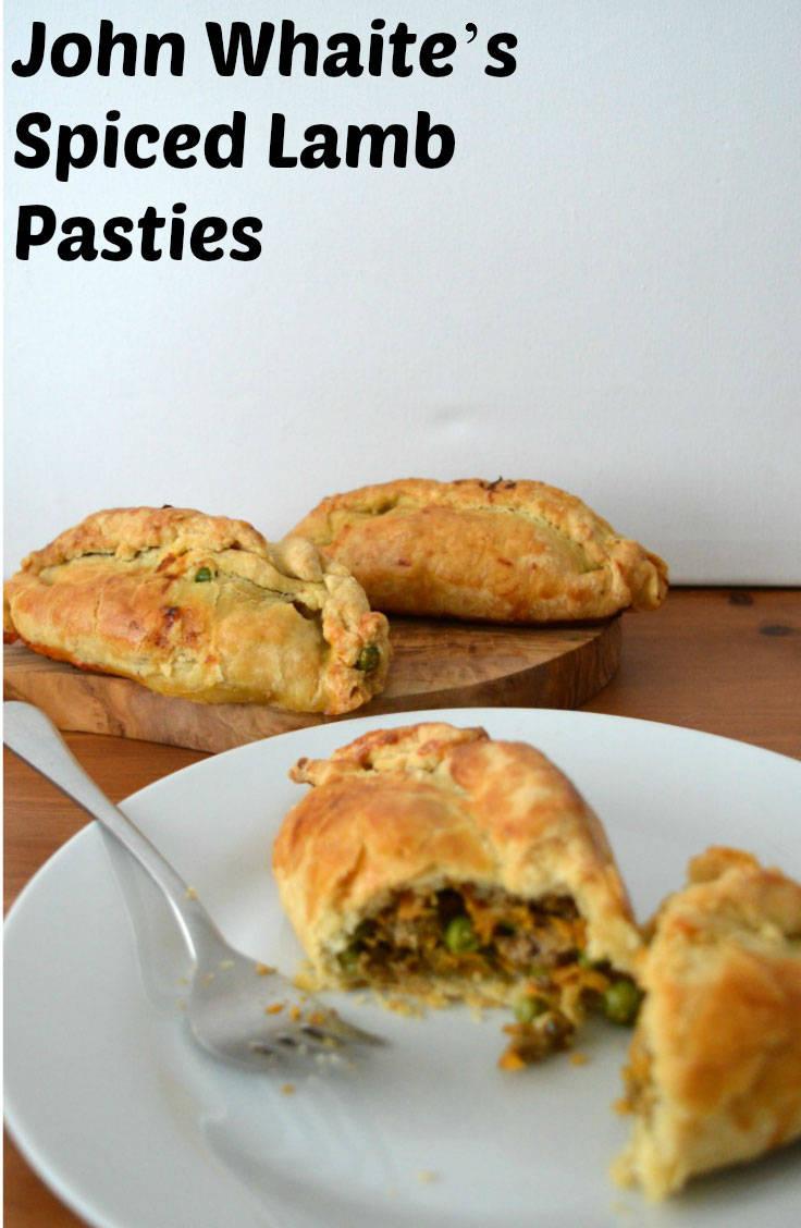 Spiced lamb pasties from John Waite's recipe