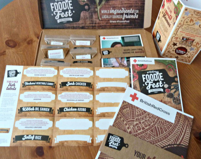 Foodie Fest pack from the Red Cross