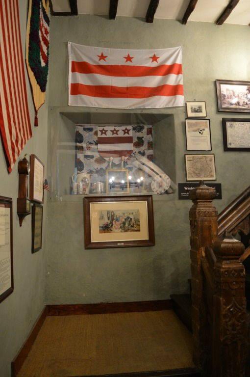 Staircase at Washington old hall