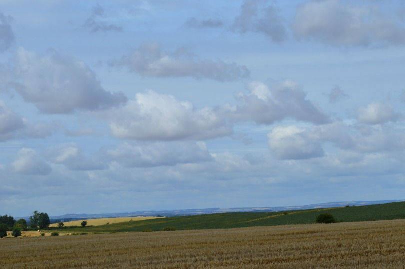Views from Duddo stone circle