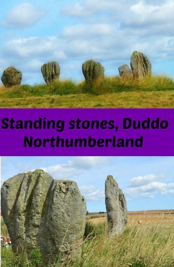 Standing stones at Duddo, Northumberland