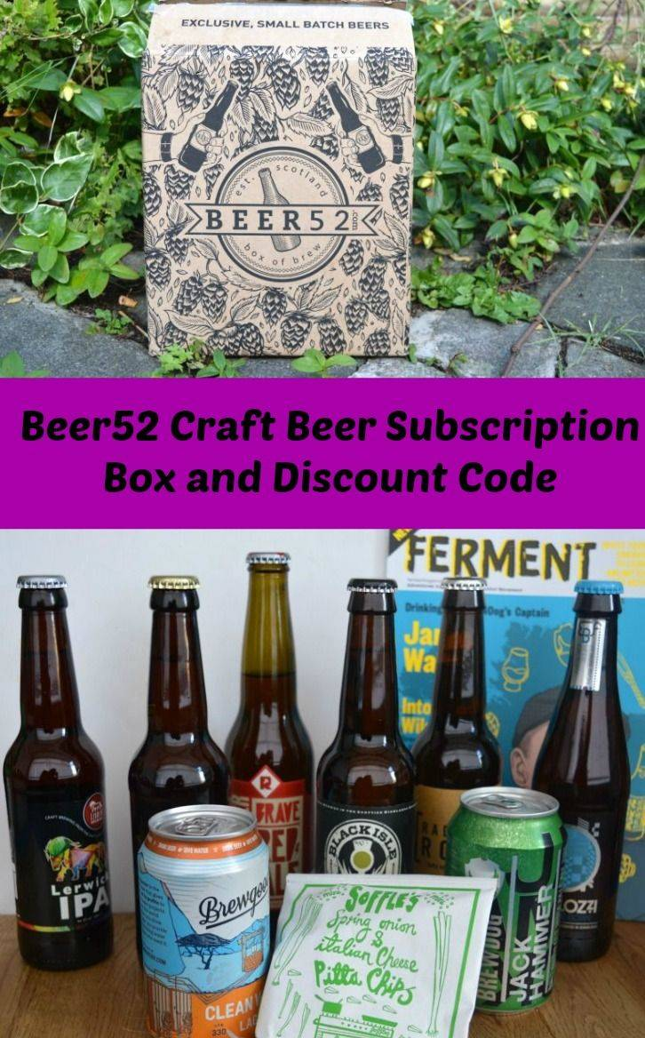 Beer52 is a craft beer subscription box which brings a selection of 8 -10 craft beers from around the world to your door. Get a £10 discount with the code on my blog