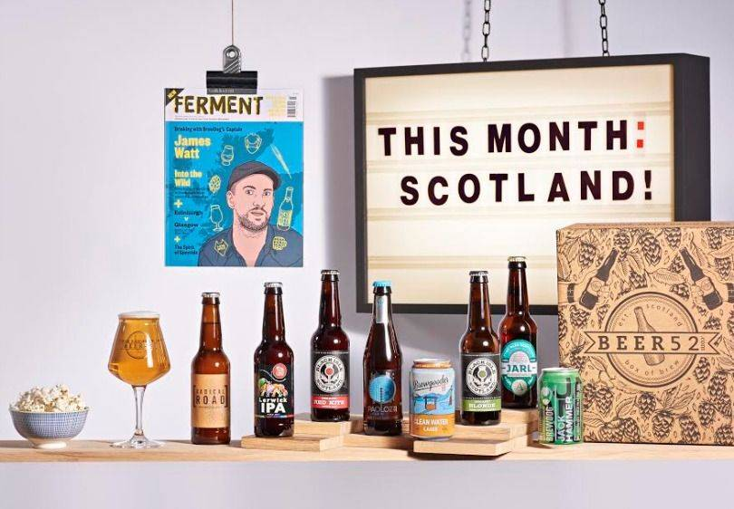 Beer52 Scotland box