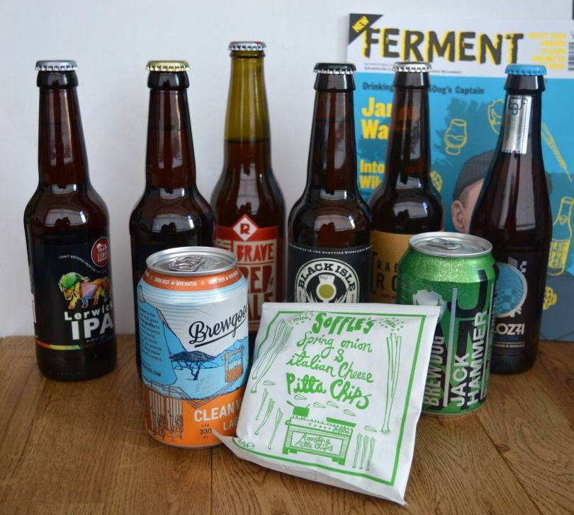 Beer52 subscription box contents
