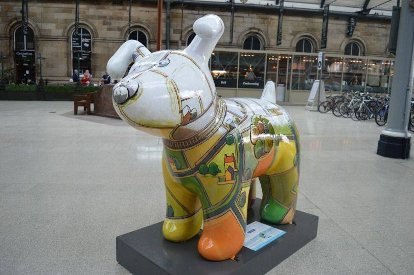 Snowline Great North Snowdog at the Central STation