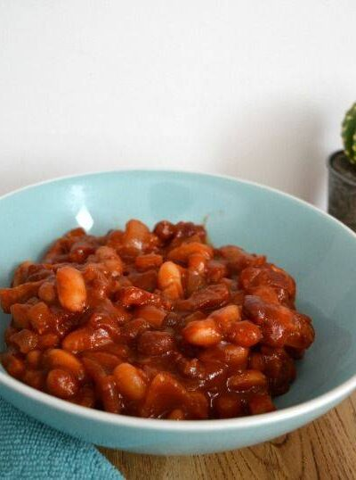 home made barbecue baked beans