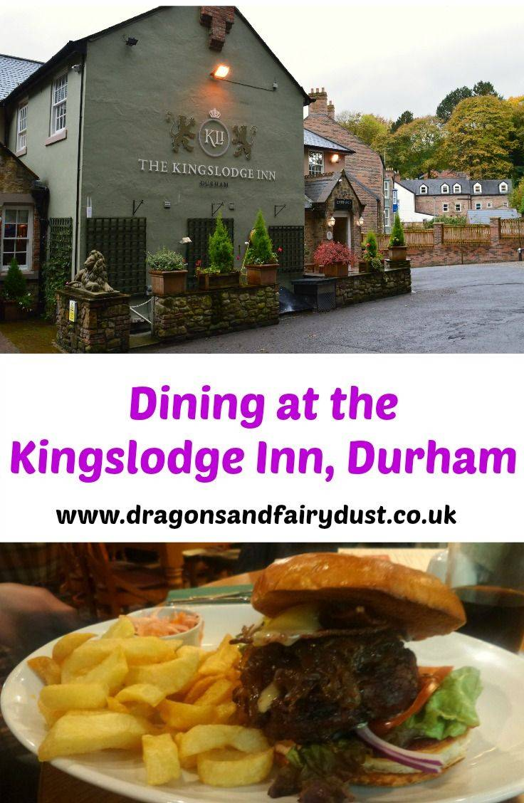 Dining at Kingslodge Inn, Durham. A cosy and rustic pub in central Durham with overnight accomodation as well as home cooked food