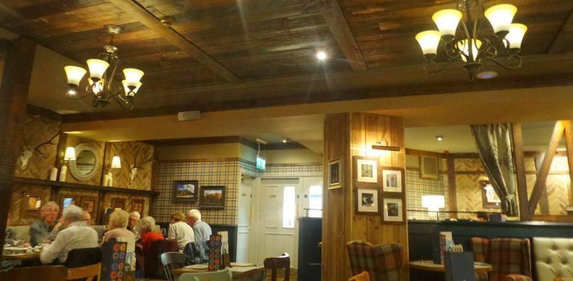 Inside Kings Lodge Inn Durham