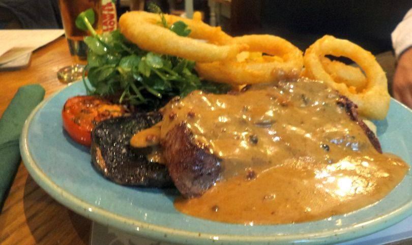 Kingslodge Inn 8oz ribeye steak
