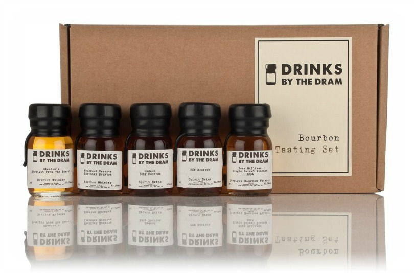 Drinks by the Dram Bourbon tasting set
