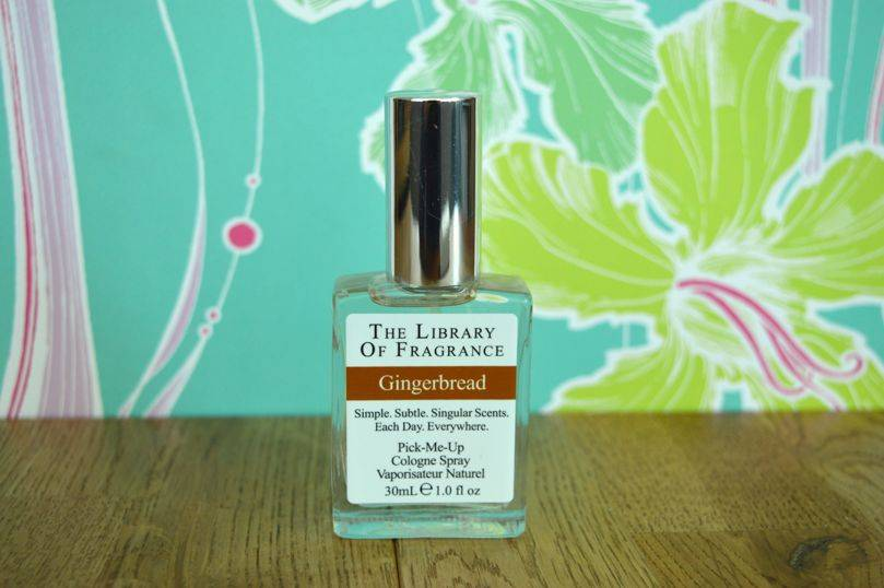 Gingerbread fragrance from The Library of Fragrance