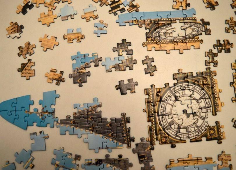 Ravensburger big ben silhoutte puzzle