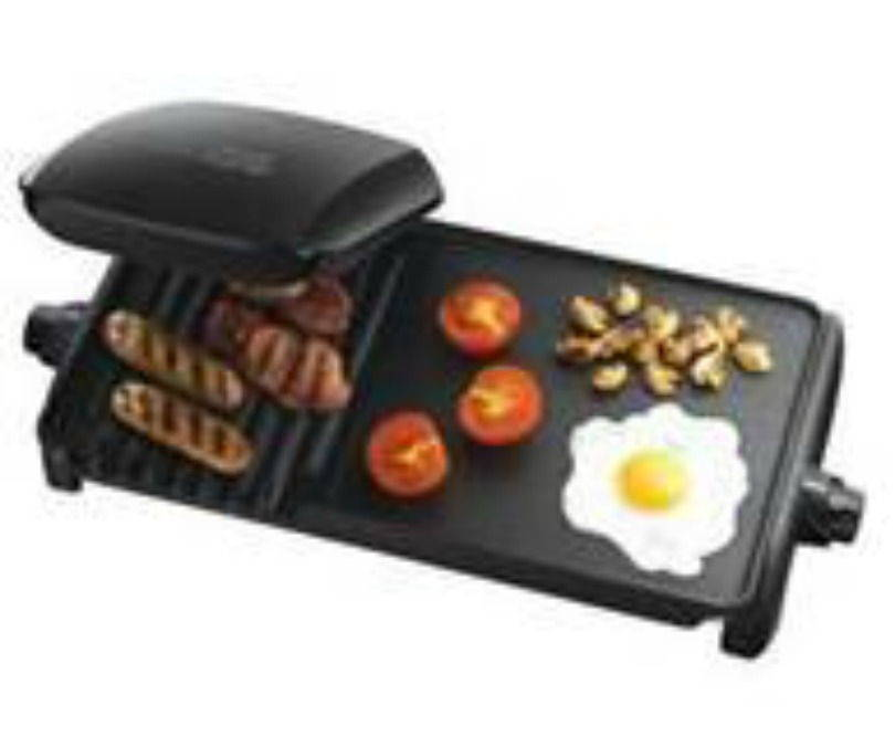 George Foreman 10 Portion Entertaining Grill and Griddle