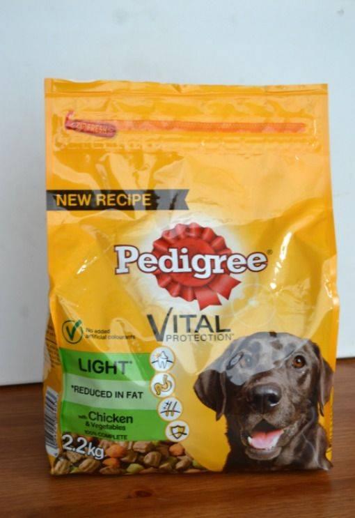 Pedigree vital light