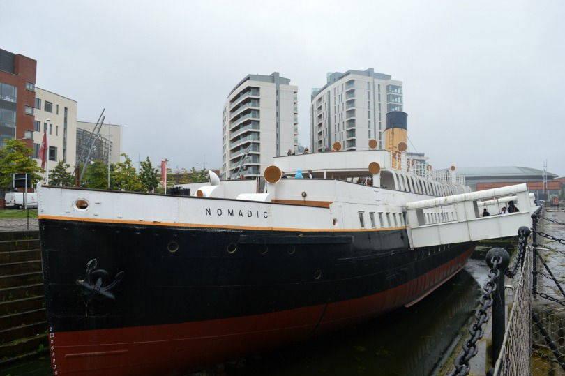 SS Nomadic moored at Hamilton Dock