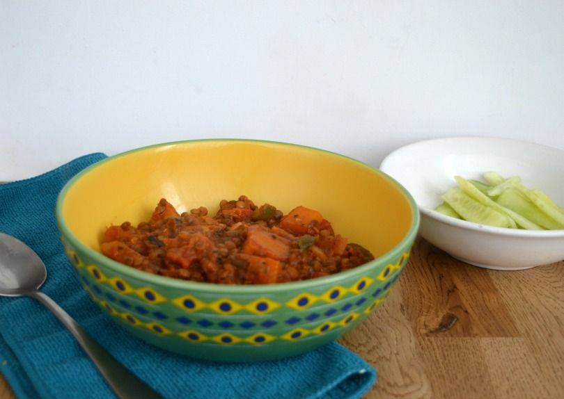 Quick and easy lentil stew