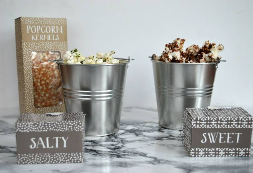 Flavoured popcorn recipes