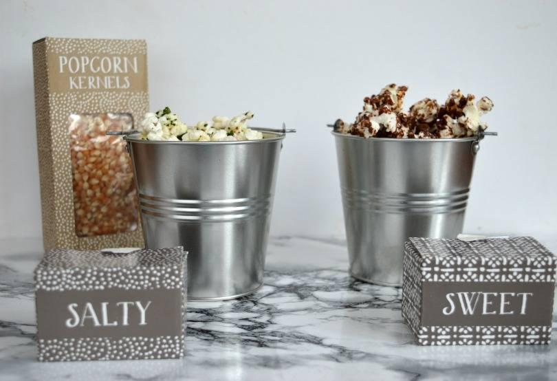 Flavoured popcorn recipes