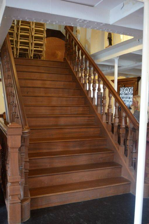 Staircase in the SS Nomadic