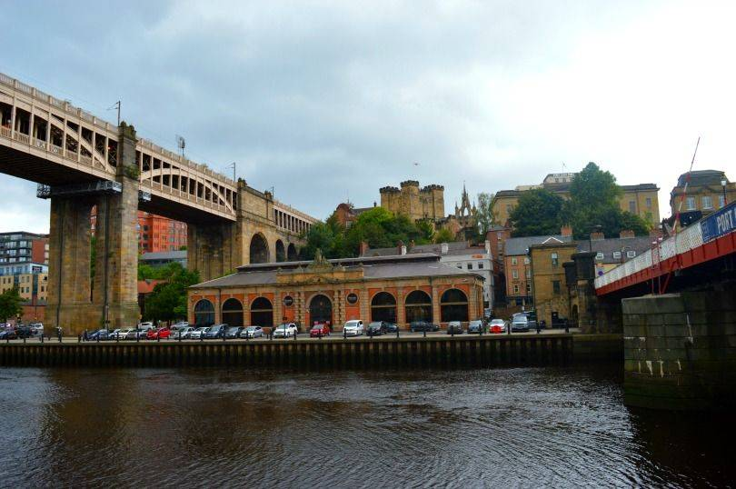 View from Newcastle Swing Bridge