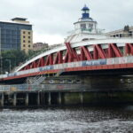 View of the Swing Bridge, Newcastle Upon Tyne