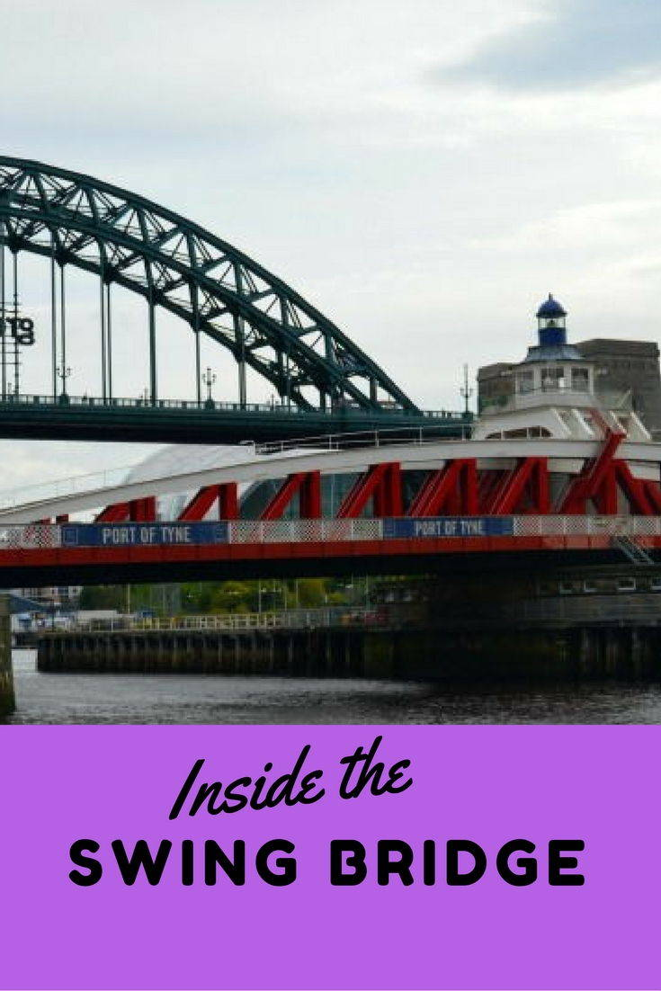 Visiting the inside of the Swing Bridge Newcastle. Seeing the hydraulics that operate the bridge