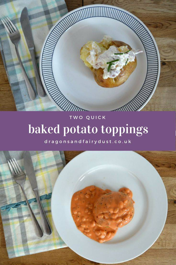 Two tasty and quick baked potato toppings. Hawaiian and cheesy baked beans are great toppings for baked potatoes that are full of taste.