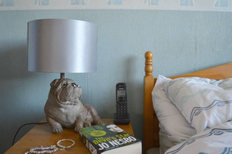 Bedside table light from litecraft