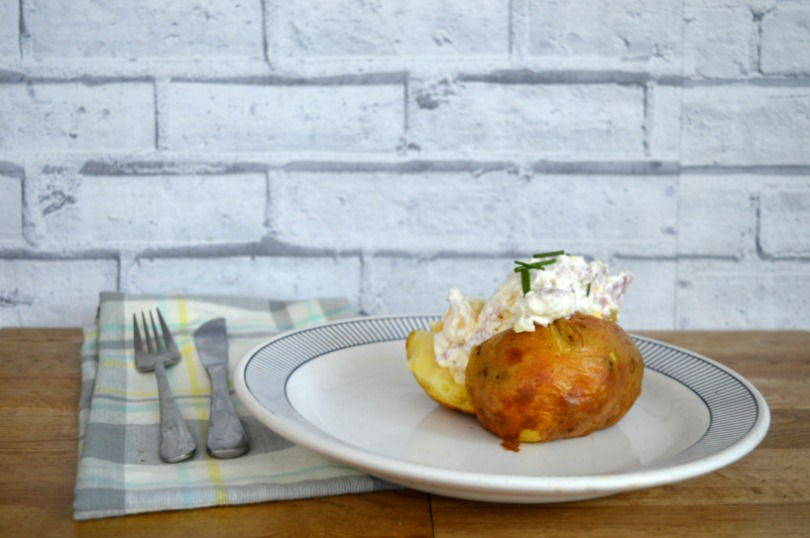 quick baked potato topping