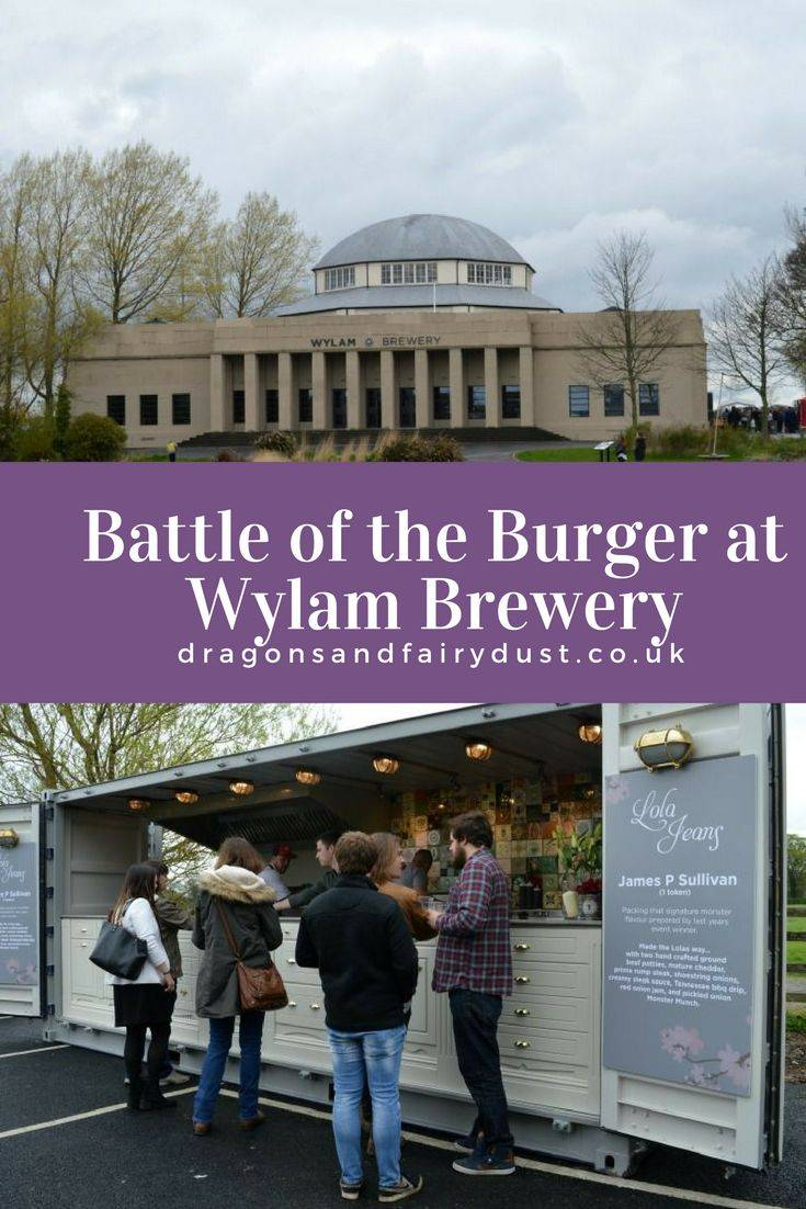 Battle of the burger at Wylam Brewery, Newcastle Upon Tyne