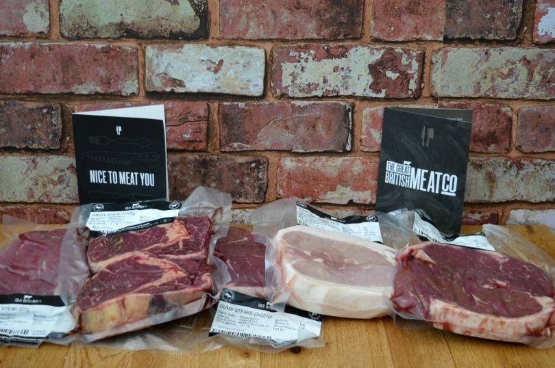 Steak selection pack from the Great British Meat Co.
