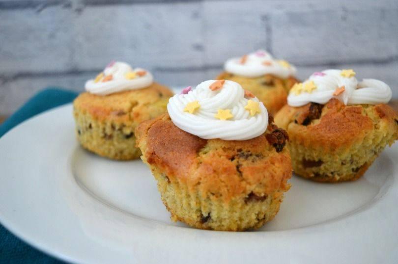 Simnel Muffins