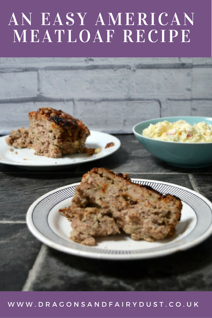 Easy Amercian mealloaf. A delicious recipe made with minced beef