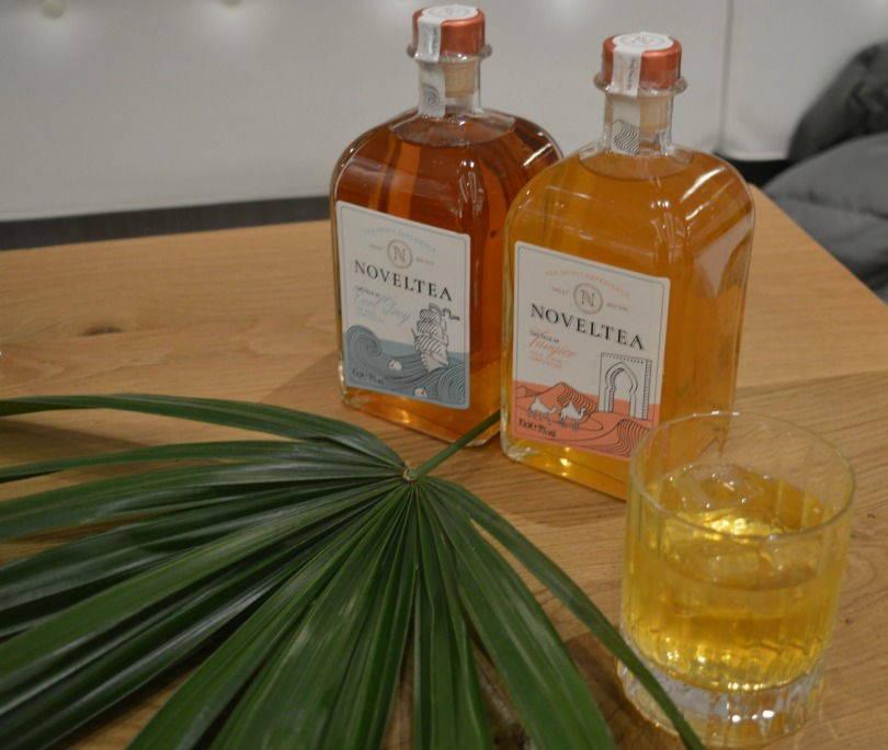 Noveltea bottles