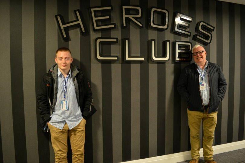 Heroes Club St James Park