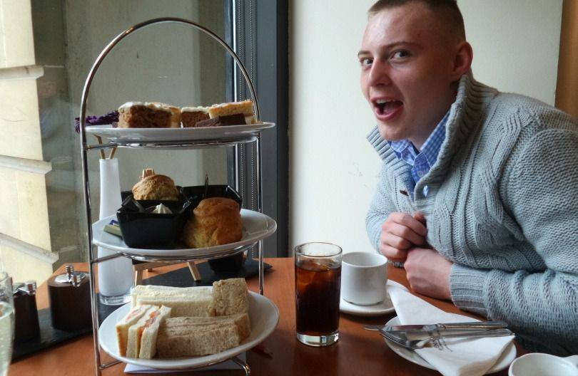 Afternoon tea at the copthorn hotel