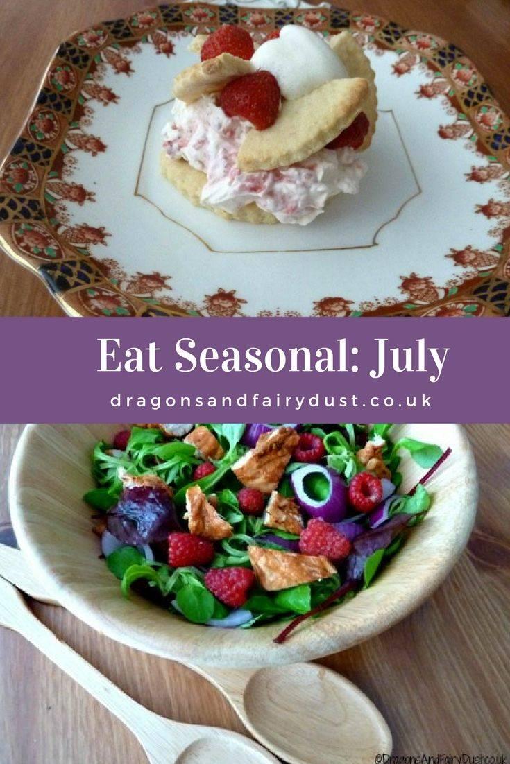 What food is in season in July