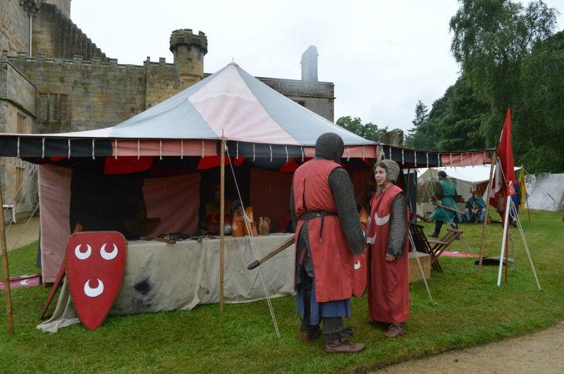 clash of the knights at belsay