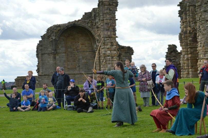 Knights tournament at tynemouth prory