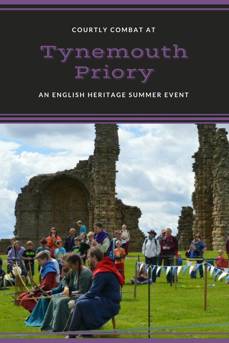 Knights tournament at Tynemouth priory and castle