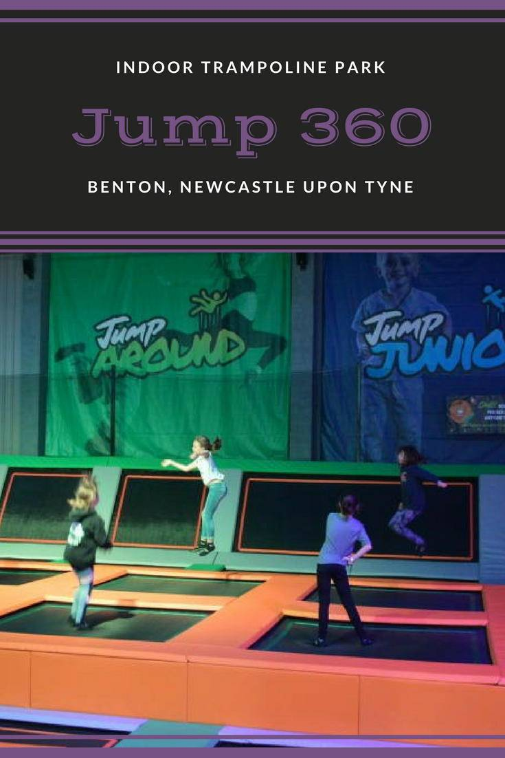 Jump 360 Benton, An indoor trampoline park in Newcastle Upon Tyne. A great activity for the kids