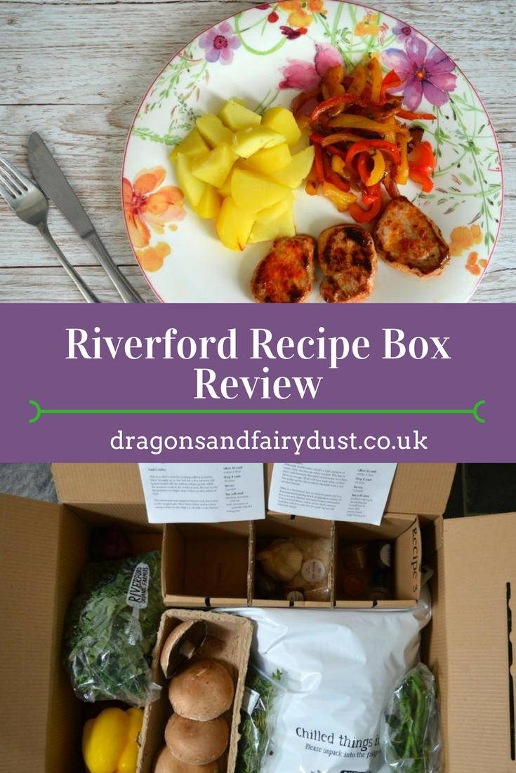 Riverford recipe box. All the ingredients to make tasty and delicious meals delivered in a box
