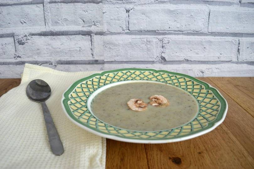 quick and easy mushroom soup