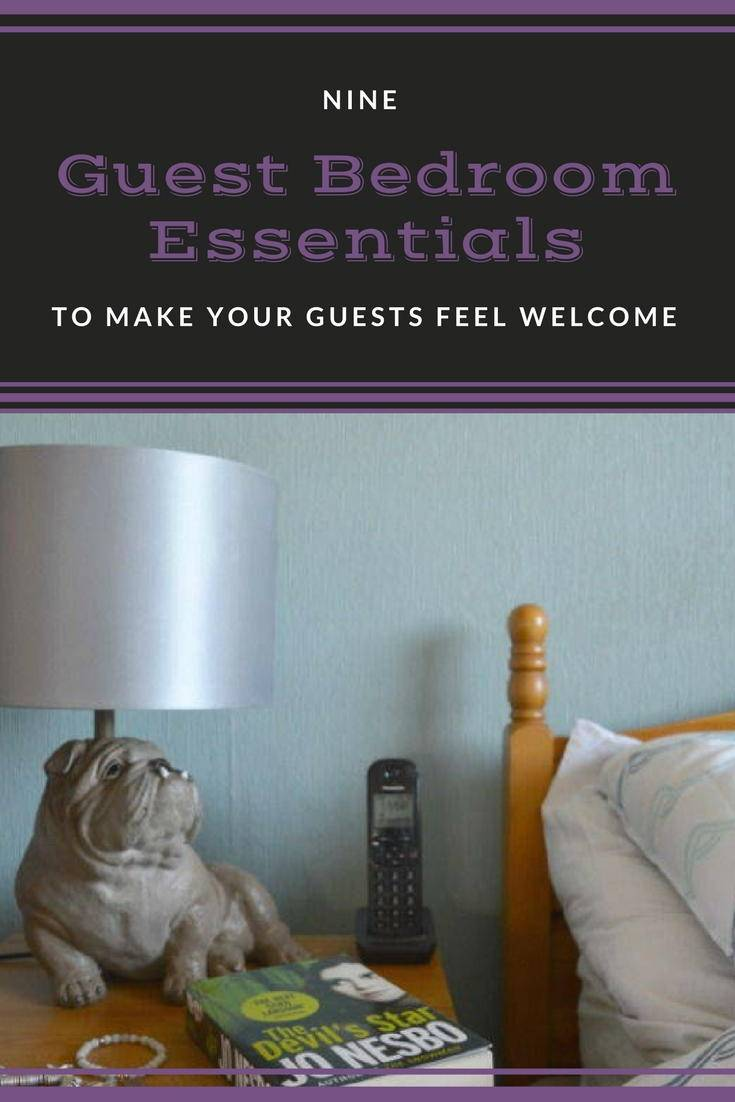 Nine guest bedroom essentials to make your guests feel welcome