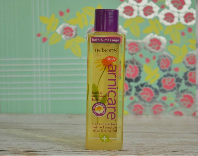 Nelsons Arnicare massage and bath oil