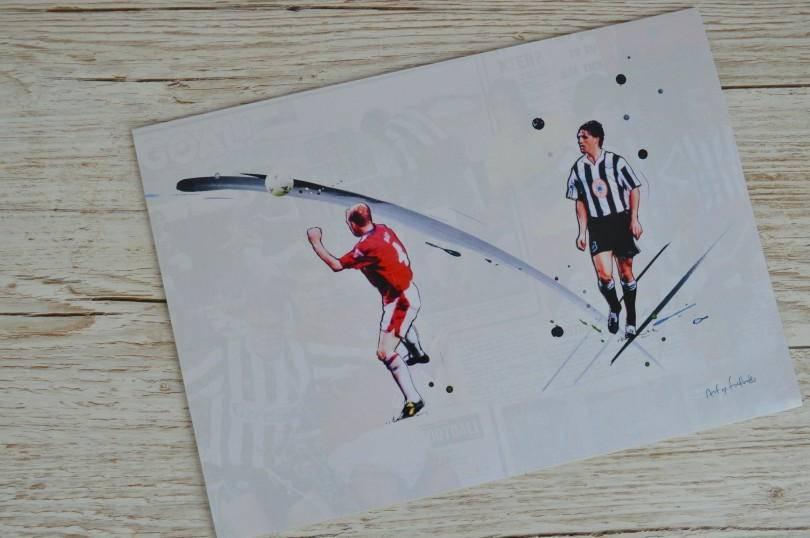 Albert chip print from Art of Football
