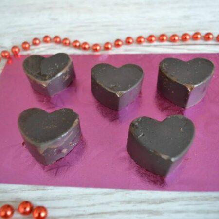 chocolate orange hearts
